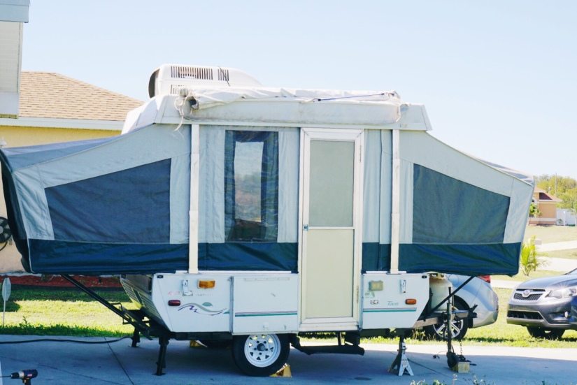Introducing… our Pop-up Camper! – yours truly, sarah